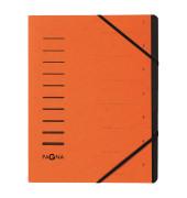 Ordnungsmappe 7 Fächer orange 40058-12