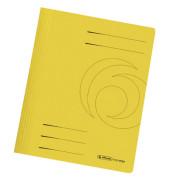 Schnellhefter 1103 A4 gelb 240g Karton kaufmännische Heftung / Amtsheftung bis 240 Blatt