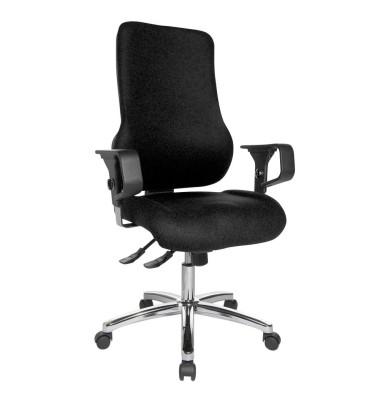 Sitness 55 Bürostuhl schwarz SD69X L50