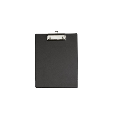Klemmbrett 233-53-90 A5 schwarz 175x235mm Kunststoff mit Aufhängeöse