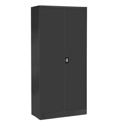 Aktenschrank 100096, Stahl abschließbar, 5 OH, 92 x 195 x 42 cm, anthrazit