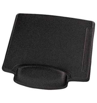 Mousepad mit Handgelenkauflage schwarz 54782