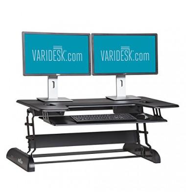CubePlus 40 schwarz höhenverstellbarer Arbeitsplatz 49992