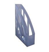 Stehsammler H23655-08 76x245x320mm A4 Polystyrol grau-transparent