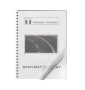 Umschlagfolien UMT020M A4 PVC 0,2 mm transparent matt 100 Stück