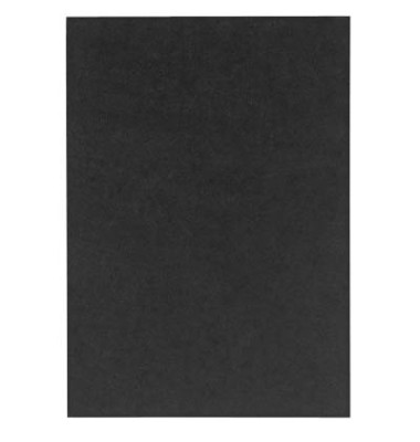 Umschlagkarton UMBR300-SW A4 Karton 300 g/m² schwarz Lederstruktur 100 Stück