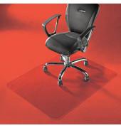 Bodenschutzmatte Master 120 x 120 cm Form O für Teppichböden transparent PC