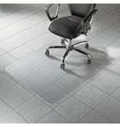Bodenschutzmatte Master 91,5 x 122 cm Form O für Hartböden transparent PC