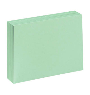 Karteikarten A4 blanko 190g grün 100 Stück