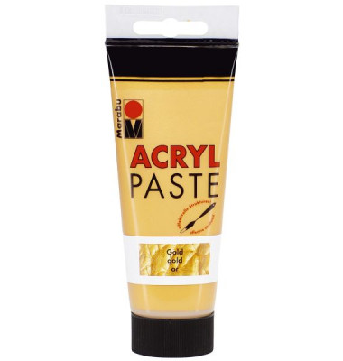 1202 50 084   100 ml Acrylpaste  gold