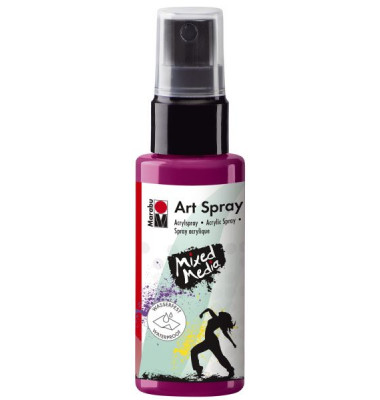 Acrylspray Art Spray 12090 005 005, himbeere, 50ml