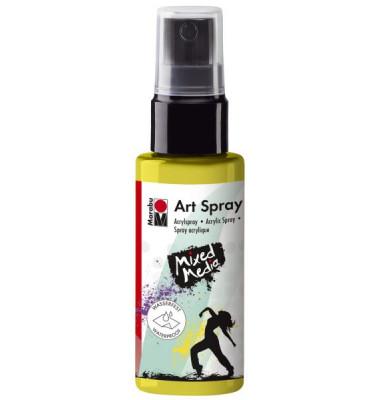 Acrylspray Art Spray 12090 005 020, zitron, 50ml