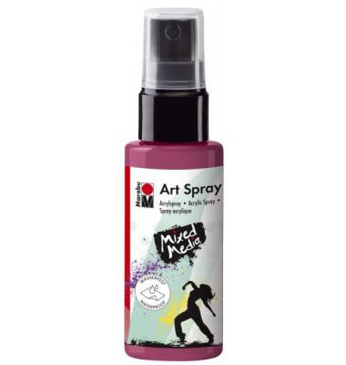 Acrylspray Art Spray 12090 005 034, bordeaux, 50ml