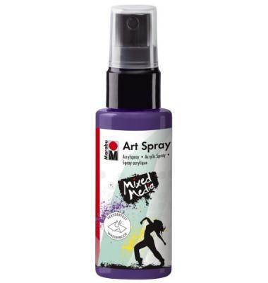 Acrylspray Art Spray 12090 005 037, pflaume, 50ml
