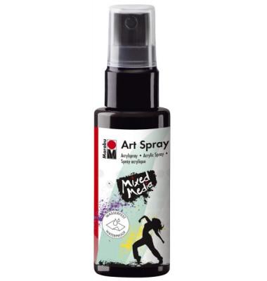 1209 05 073 Acrylspray Art Spray schwarz 50ml