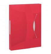 624048  Vivida Heftbox A4 PP  rot