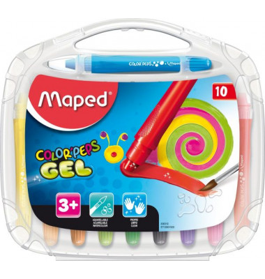 MAPED M836310 10er-Et Gelmalstift Color`Peps Smoothy
