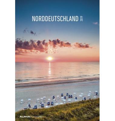 Bildkalender Norddeutschland 1Monat/1Seite 24x34 cm 2021