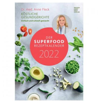 Rezept-Bildkalender Superfood 23,7x34cm 2021