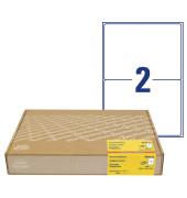 8017-300 Versandetiketten - 199,6x143,5 mm, 600 Stück, weiß