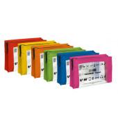 Reißverschlusstasche VELOCOLOR® Travel, PVC, sortiert, A5, 230 x 160 mm