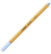 Fineliner point 88, 0,4 mm, eisblau