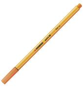 Fineliner point 88 0,4 mm, gelbrot