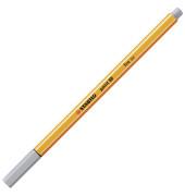 Fineliner point 88 0,4 mm, mittelgrau
