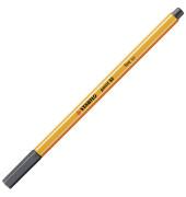 Fineliner STABILO® point 88®, 0,4 mm, schwarzgrau