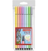 """""""Premium-Filzstift STABILO® Pen 68 Etui """"""""Pastell"""""""", mit 8 Stiften"""""""
