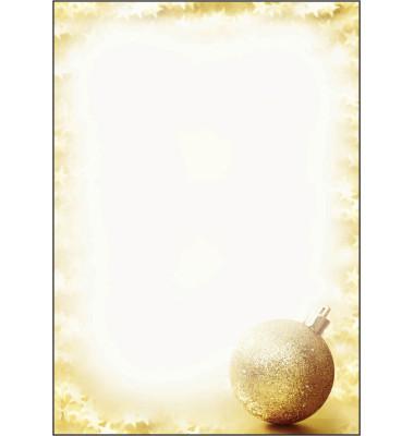 Weihnachtspapier Brightness A4 100 Blatt DP246