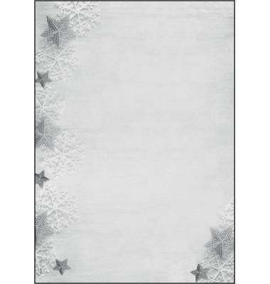 Weihnachtspapier Frozen Stars A4 100 Blatt DP248