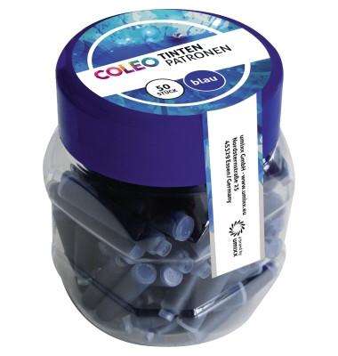 Füllerpatronen 744263 königsblau 50 Stück im Glas