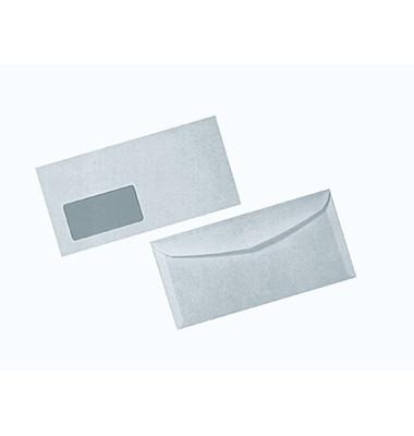 Briefumschlag 3000 Din Lang+ mit Fenster nassklebend 80g weiß