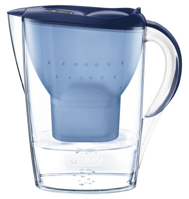 Wasserfilter Marella Cool Brita Tischwasserfilter blau