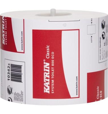 Toilettenpapier Classic System 103424 2-lagig