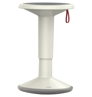 Sitzhocker UpIs1 100U grau/weiß