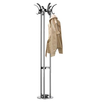 Garderobenständer 42,5 x 174 cm (Ø x H) Metall chrom