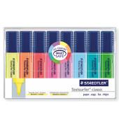 Textmarker Textsurfer classic 8er Etui farbig sortiert 1-5mm Keilspitze