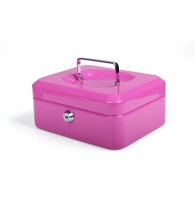 Geldkassette 8002870 pink 200x160x90mm