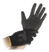 12 Arbeitshandschuhe Black Ace schwarz Größe XL 33933