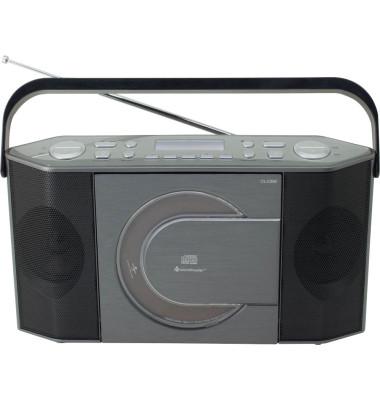 RCD1770AN Radio silber, schwarz RCD1770AN