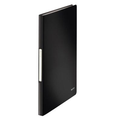 Solid Sichtbuch schwarz mit 40 Hüllen 4565-10-95