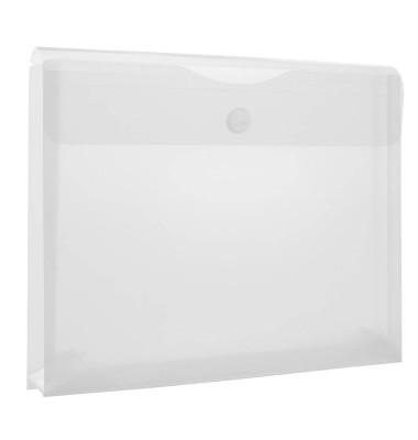 Dokumententasche 40134 A4 farblos/transparent 10 Stück