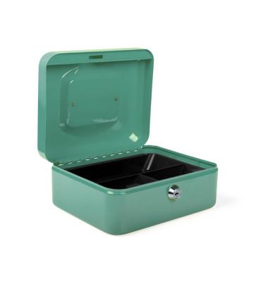Geldkassette 8005666 grün 200x160x90mm