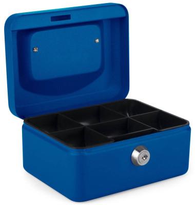 Geldkassette 8011742 Größe 1 blau 150x115x80mm
