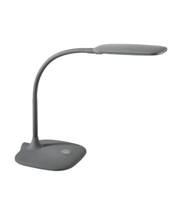 Schreibtischlampe 9082 mit Fuß grau
