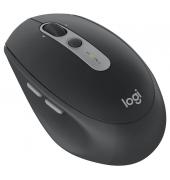 PC-Maus M590 Silent 910-005197, 7 Tasten, kabellos, USB-Funk, Rechtshänder, Unifying-Funktion, optisch, schwarz
