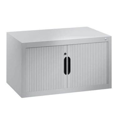 Aufsatz-Rollladenschrank silber keine Fachböden 3261-00