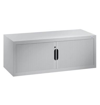 Aufsatz-Rollladenschrank silber keine Fachböden 3263-00